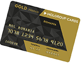 MOL Group Gold Card Prepaid România